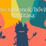 WordPress sablonok/bővítmények fordítása