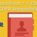 Contact Form 7 + Flamingo GDPR kompatibilissá tétele